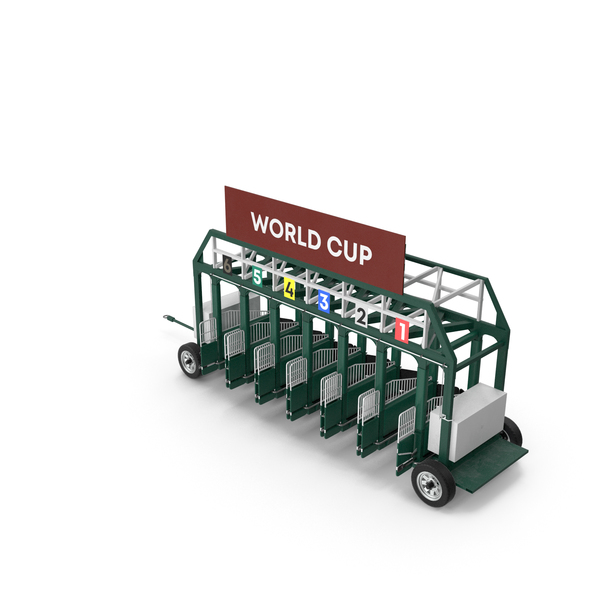 Horse Racing Starting Gates 6 PNG & PSD Images