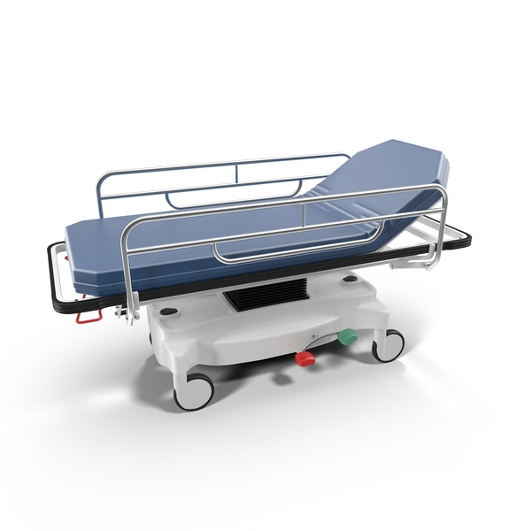 Hospital Blue Stretcher PNG & PSD Images
