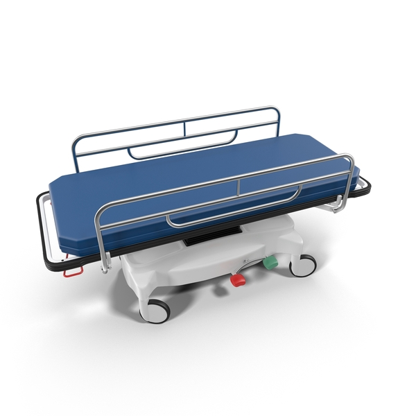 Hospital Stretcher Object