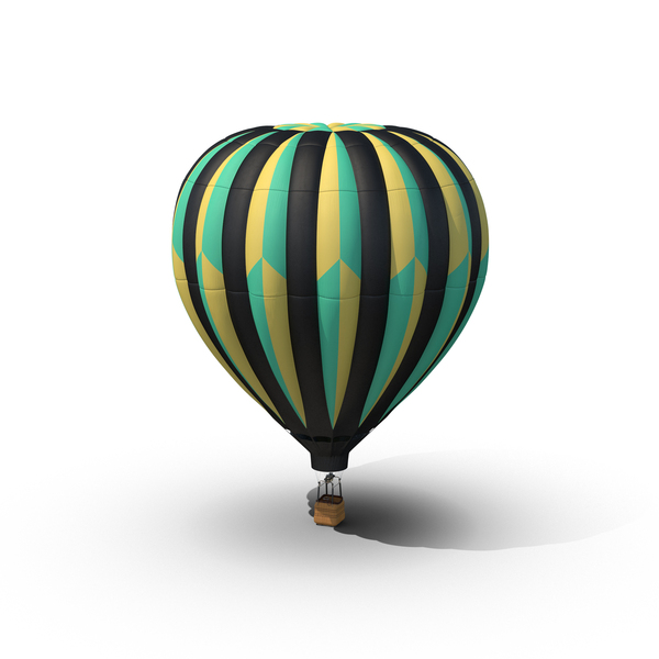 Hot Air Balloon Object
