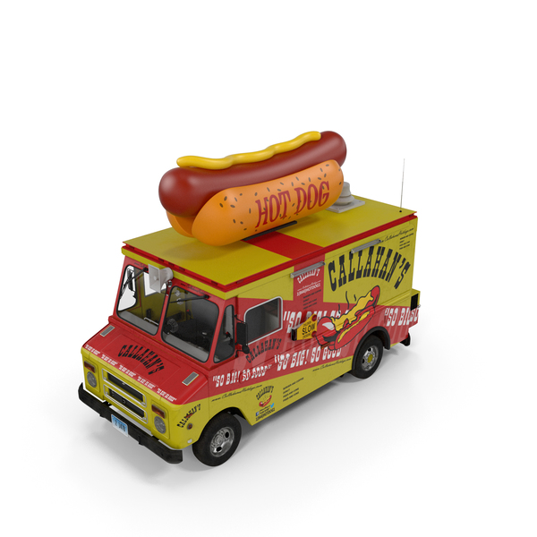 Hot Dog Truck PNG & PSD Images