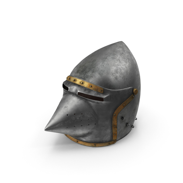 Houndskull Bascinet Helmet PNG & PSD Images