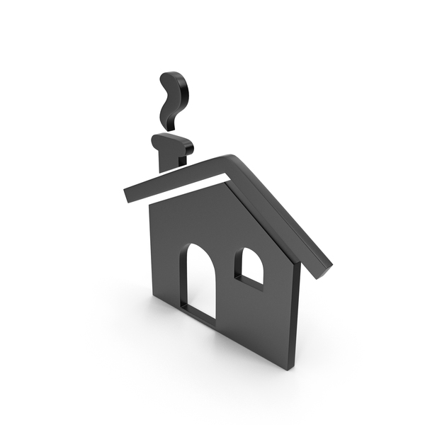 Logo: House Black Icon PNG & PSD Images