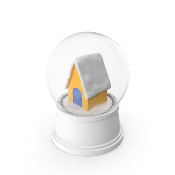 Snowglobe: House Snow Globe PNG & PSD Images