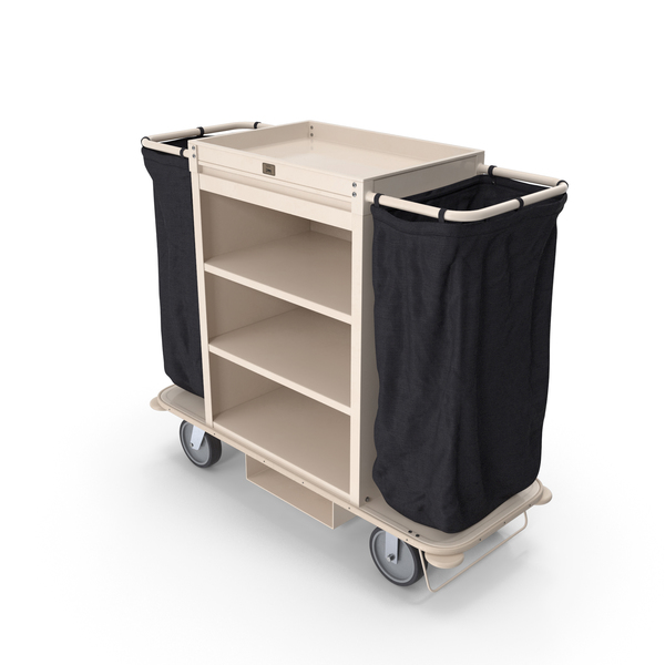 Hotel: Housekeeping Cart PNG & PSD Images