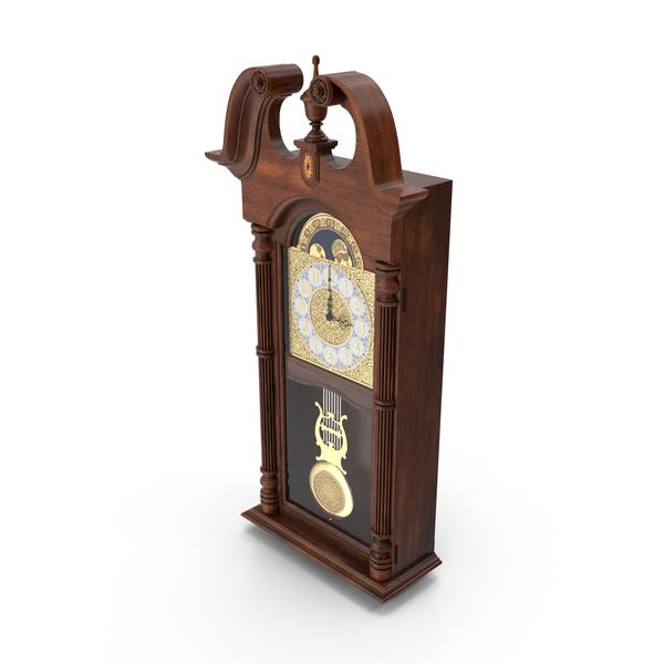 Howard Miller 620-226 Pendulum Wall Clock PNG & PSD Images
