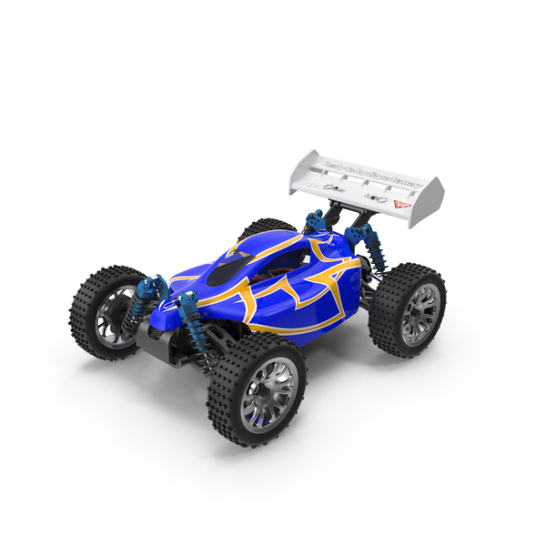 Radio Controlled: HSP RC Car Buggy PNG & PSD Images