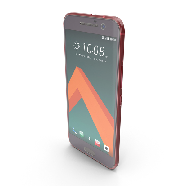 HTC 10 Camellia Red PNG & PSD Images