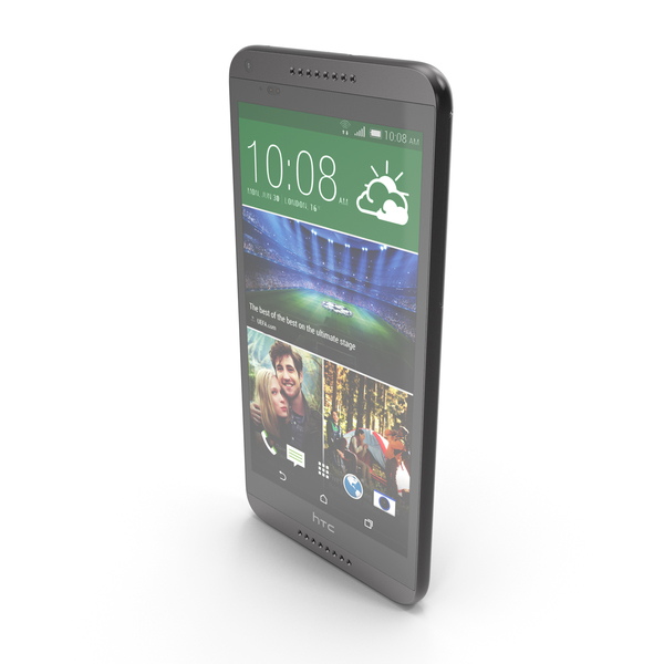 Smartphone: HTC Desire 816 Black PNG & PSD Images