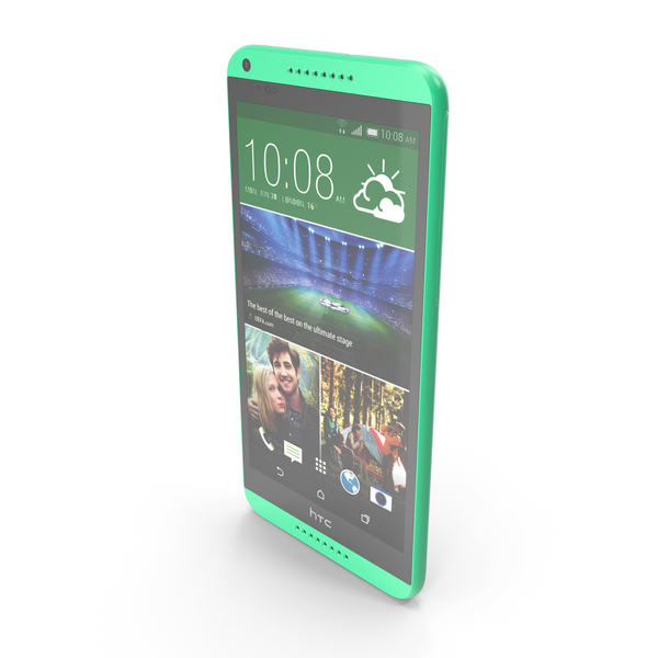 HTC Desire 816 Green PNG & PSD Images