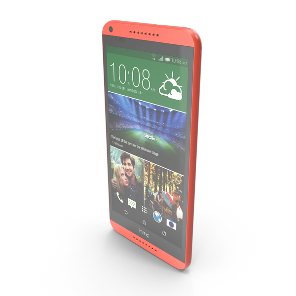 HTC Desire 816 Red PNG & PSD Images