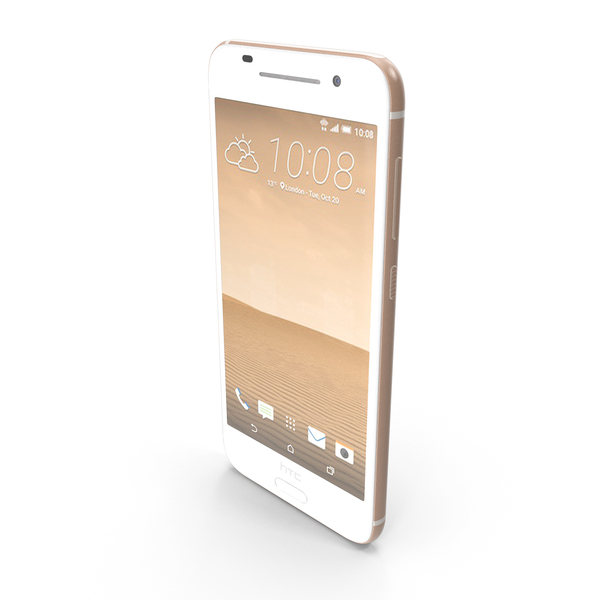 HTC One A9 Topaz Gold PNG & PSD Images