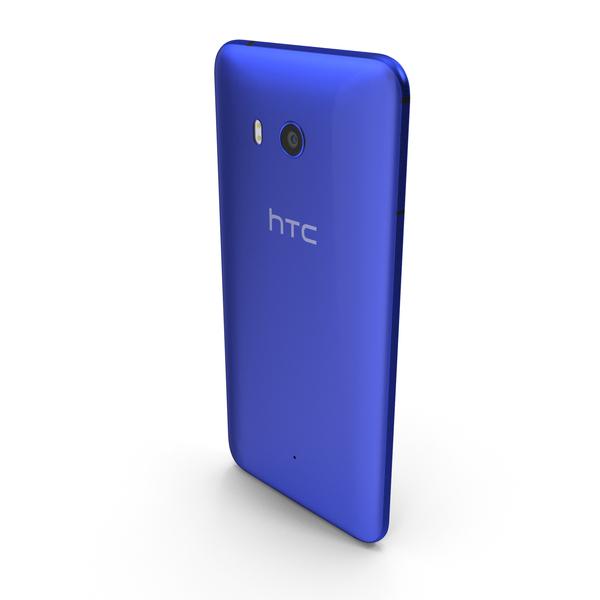 HTC U11 Sapphire Blue PNG & PSD Images