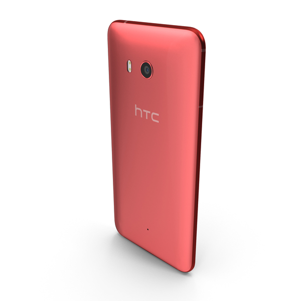 Smartphone: HTC U11 Solar Red PNG & PSD Images