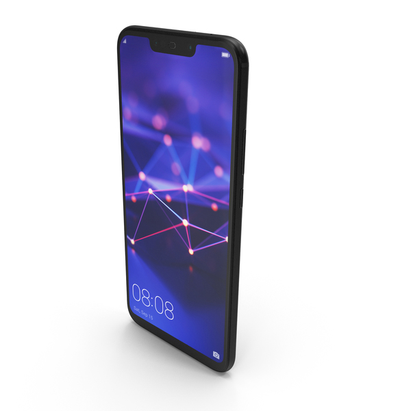 Huawei Mate 20 Lite Black PNG & PSD Images