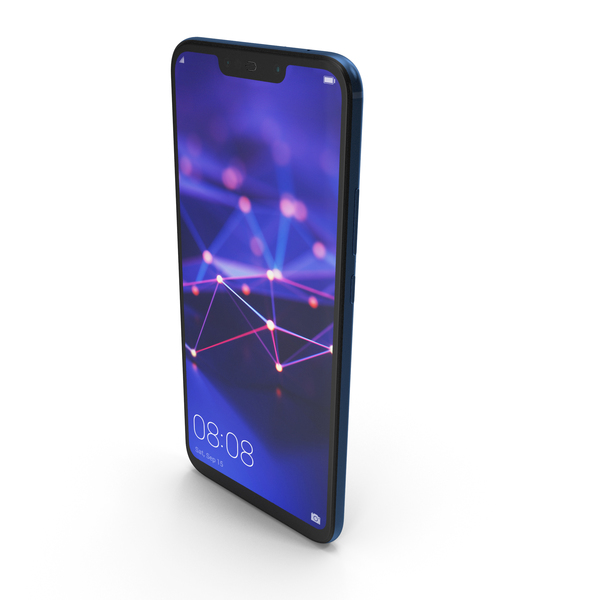 Huawei Mate 20 Lite Blue PNG & PSD Images