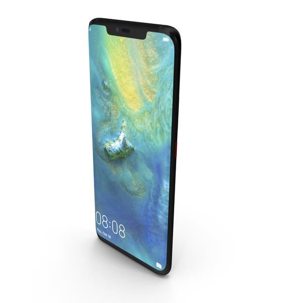 Huawei Mate 20 Pro Black PNG & PSD Images