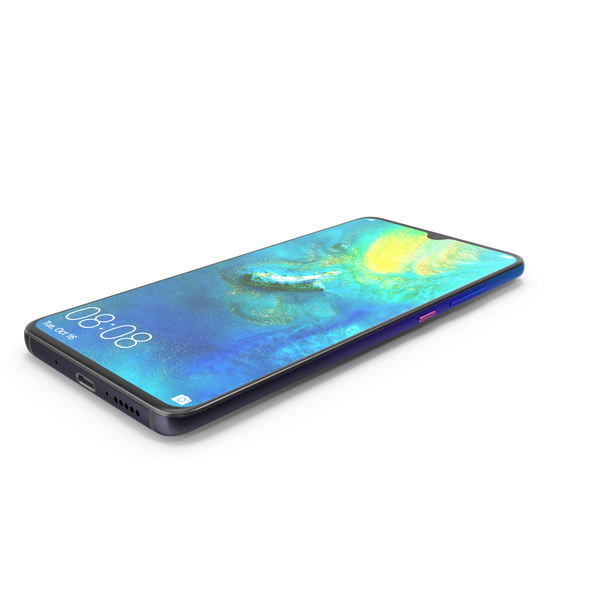 Huawei Mate 20 Twilight PNG & PSD Images