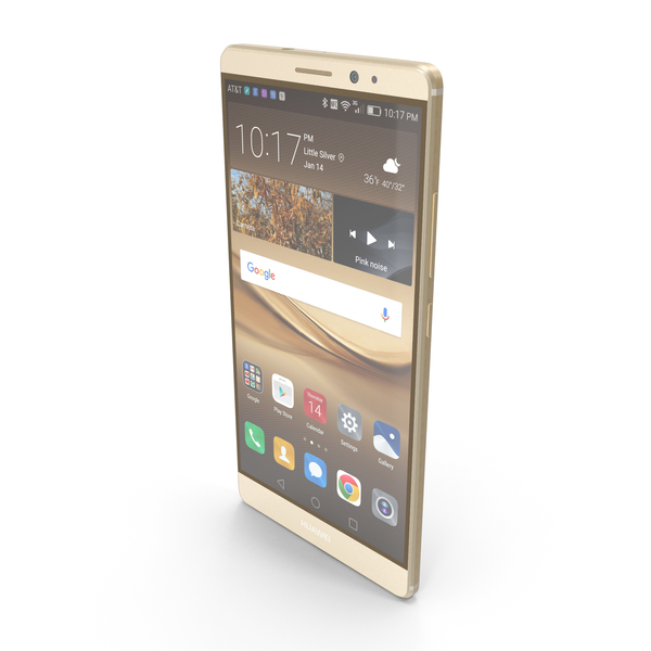 Smartphone: Huawei Mate 8 Champagne Gold PNG & PSD Images