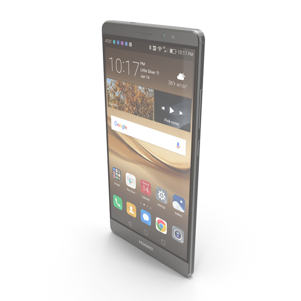 Huawei Mate 8 Space Gray PNG & PSD Images