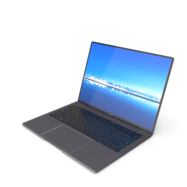 Huawei Matebook X Pro Notebook PNG & PSD Images