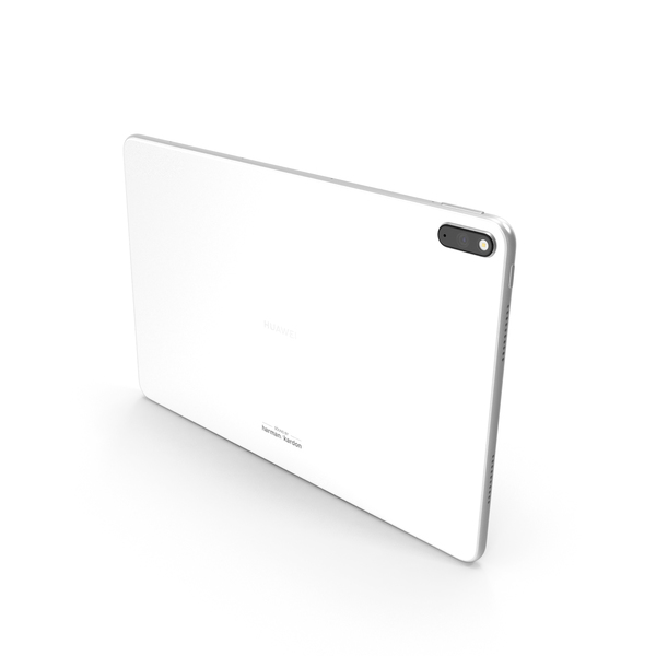Huawei Matepad Pro (5G) White PNG & PSD Images