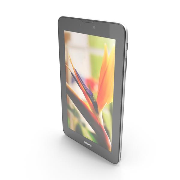 Huawei MediaPad 7 Vogue Black PNG & PSD Images