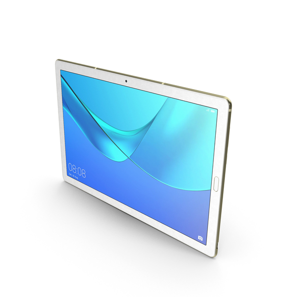 Huawei MediaPad M5 10.8 Champagne Gold PNG & PSD Images