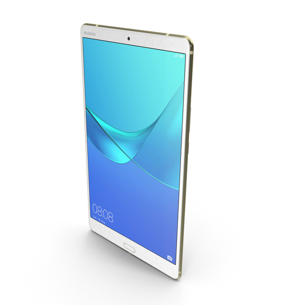 Huawei MediaPad M5 8.4 Champagne Gold PNG & PSD Images