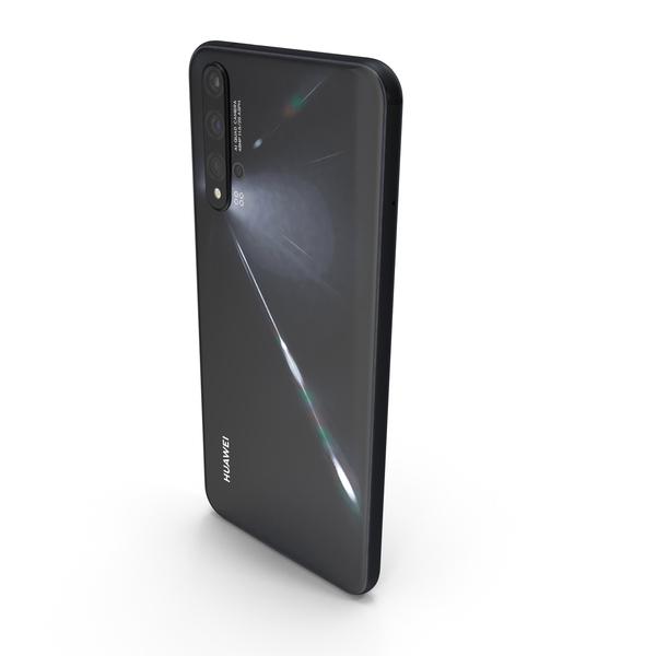 Huawei Nova 5T Black PNG & PSD Images