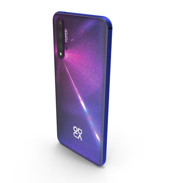 Huawei Nova 5T Midsummer Purple PNG & PSD Images