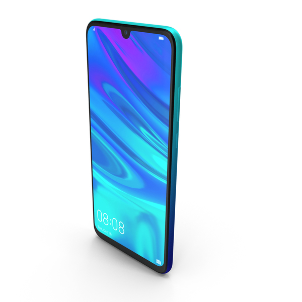 Huawei P Smart 2019 Aurora Blue PNG & PSD Images