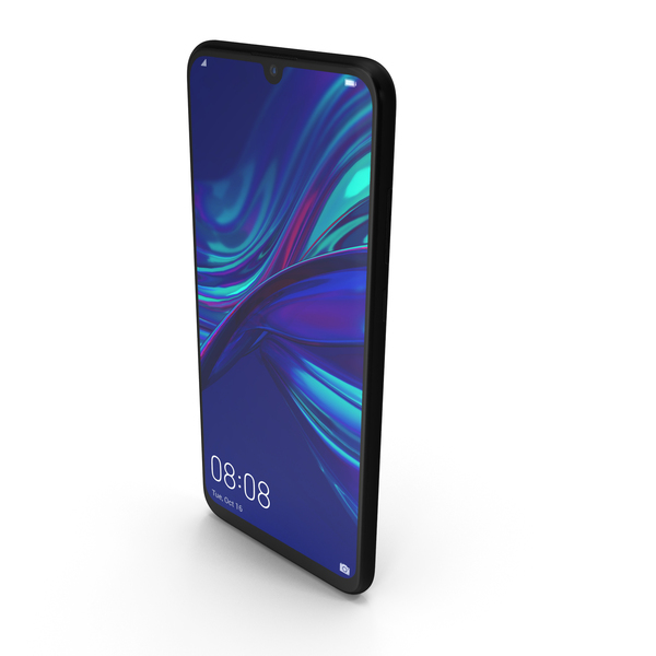 Huawei P Smart 2019 Black PNG & PSD Images