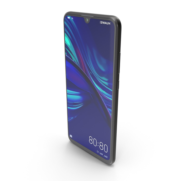 Huawei P Smart 2019 Midnight Black PNG & PSD Images