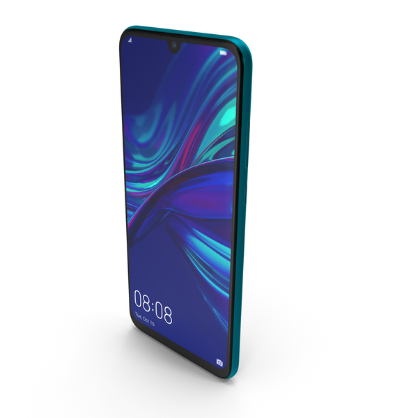 Huawei P Smart 2019 Sapphire Blue PNG & PSD Images