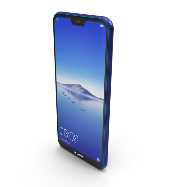 Huawei P20 Lite Klein Blue PNG & PSD Images