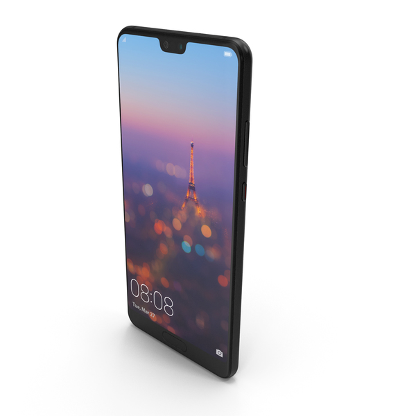 Huawei P20 Midnight Black PNG & PSD Images