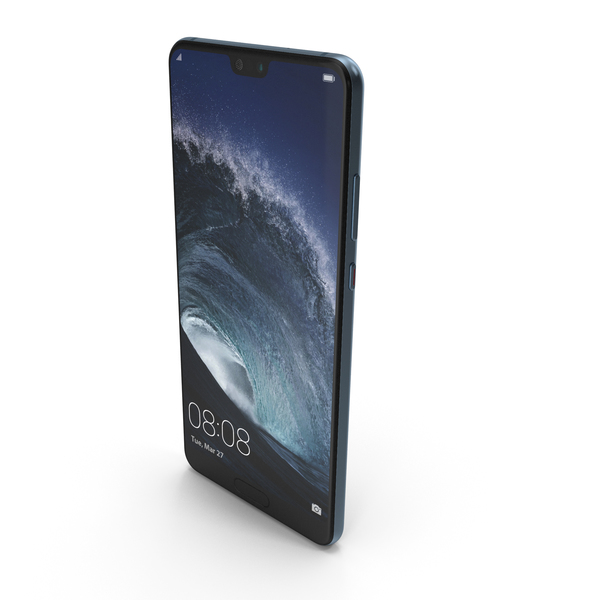 Huawei P20 Midnight Blue PNG & PSD Images