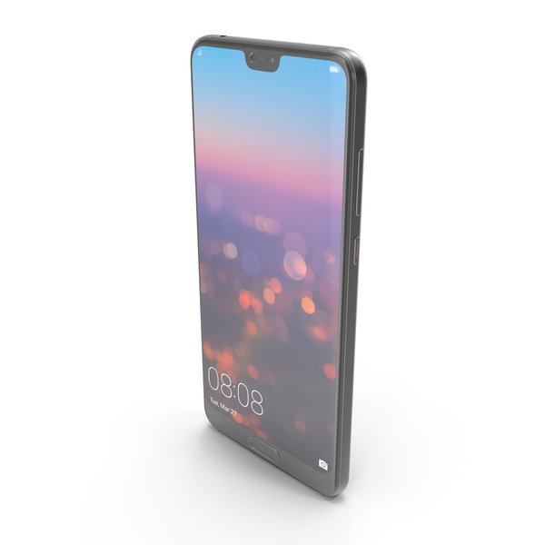 Huawei P20 Pro Black PNG & PSD Images
