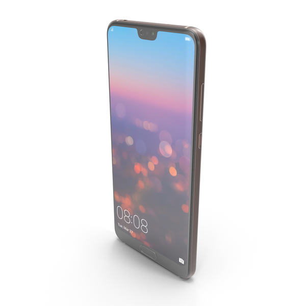Huawei P20 Pro Pink Gold PNG & PSD Images
