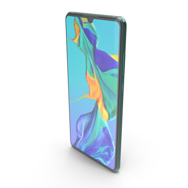 Huawei P30 Aurora PNG & PSD Images