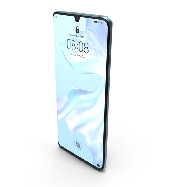 Huawei P30 Pro Breathing Crystal PNG & PSD Images