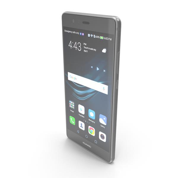 Huawei P9 Titanium Gray PNG & PSD Images