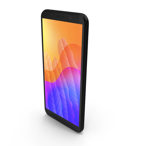 Huawei Y5p Black PNG & PSD Images
