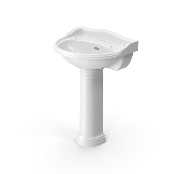 Hudson Reed Pedestal Washbasin LT PNG & PSD Images