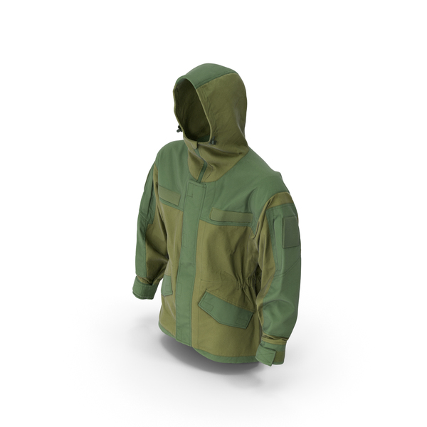 Hunting Jacket Green PNG & PSD Images