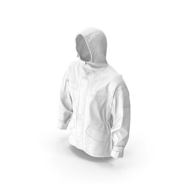 Hunting Jacket White PNG & PSD Images