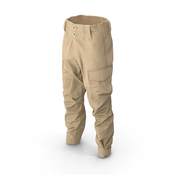 Hunting Pants Beige PNG & PSD Images