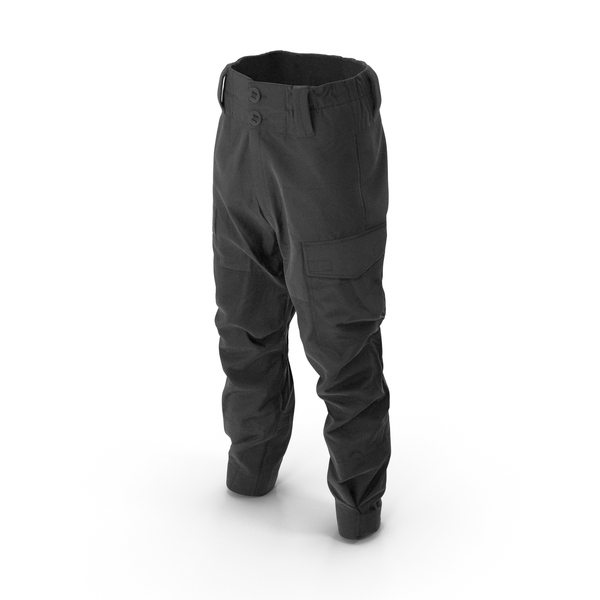 Hunting Pants Black PNG & PSD Images