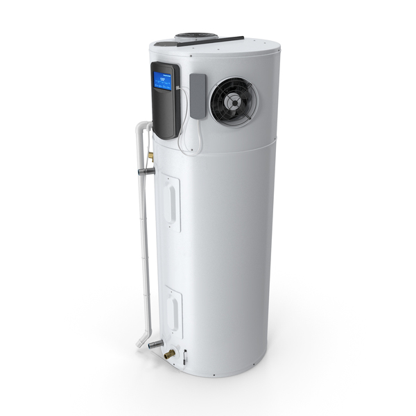 Hybrid Electric Water Heater PNG & PSD Images